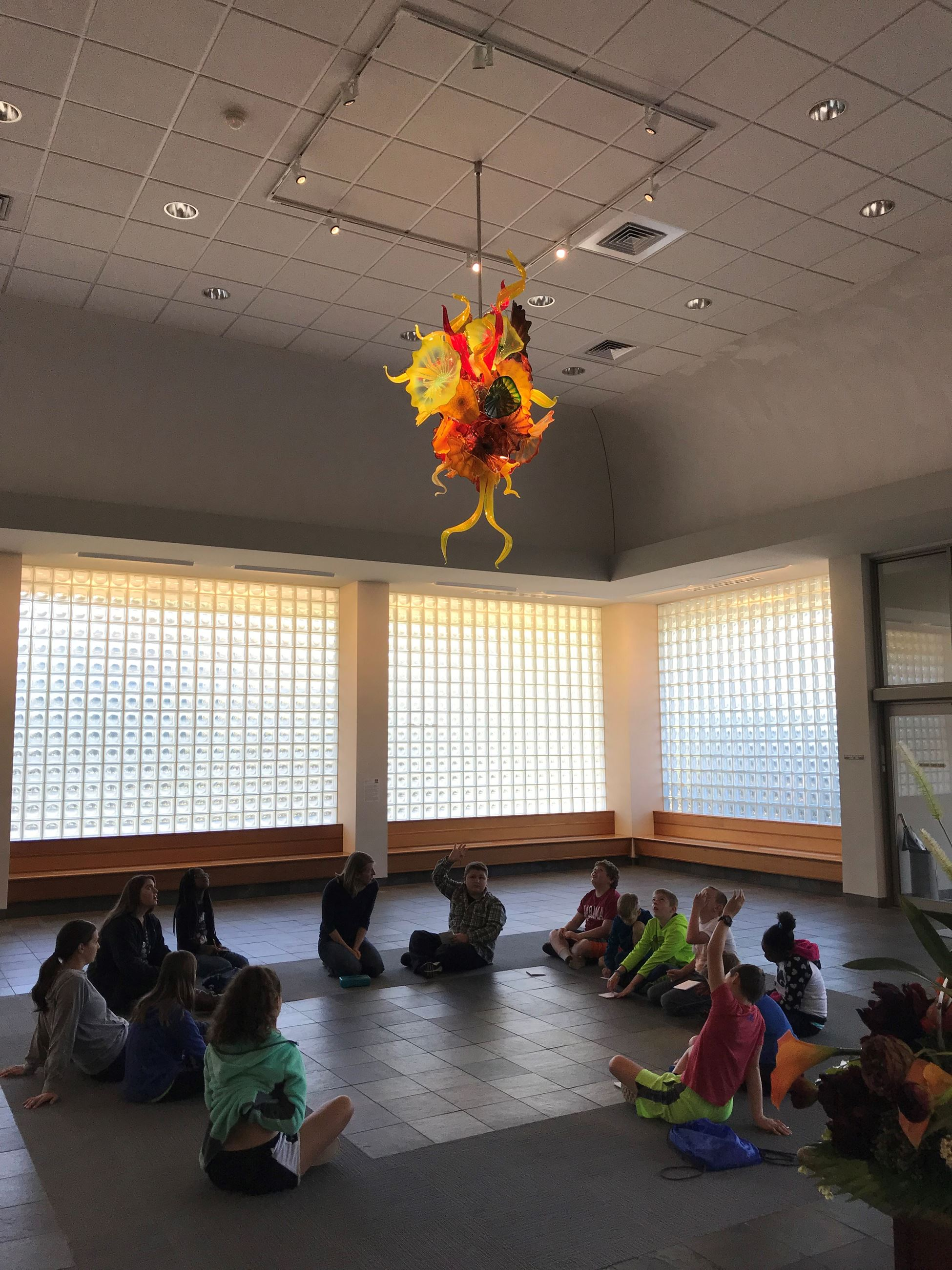 chihuly school tour