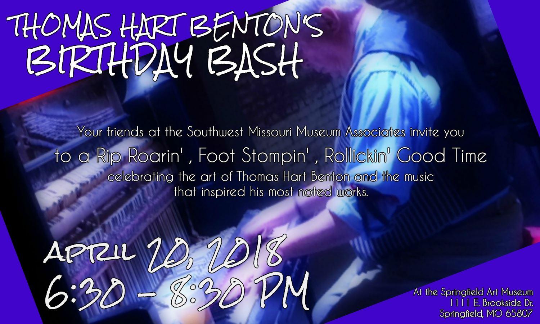 Southwest Missouri Museum Associates Host Ragtime Infused Birthday Party For Thomas Hart Benton